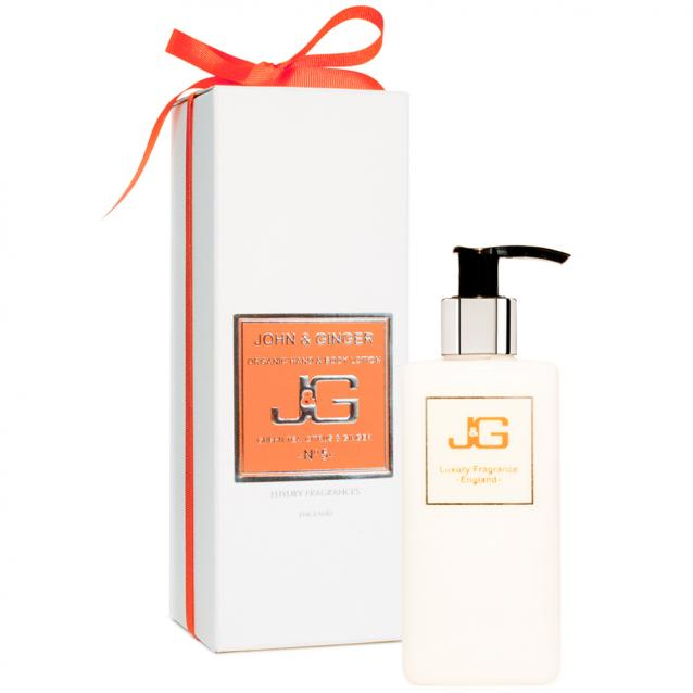John And Ginger Organic Hand And Body Lotion Number 5